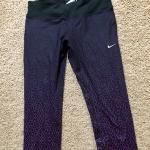 New Nike Epic run tight fit leggings